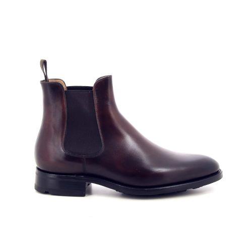 Carlos santos herenschoenen boots roodbruin 199369