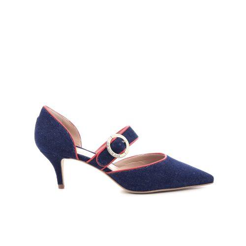 Caroline biss damesschoenen pump blauw 205681