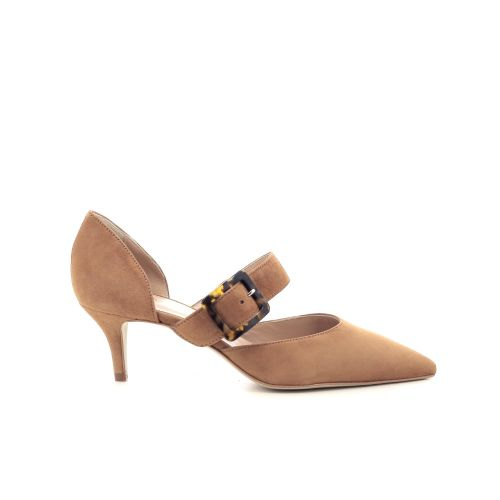 Caroline biss damesschoenen pump naturel 205680