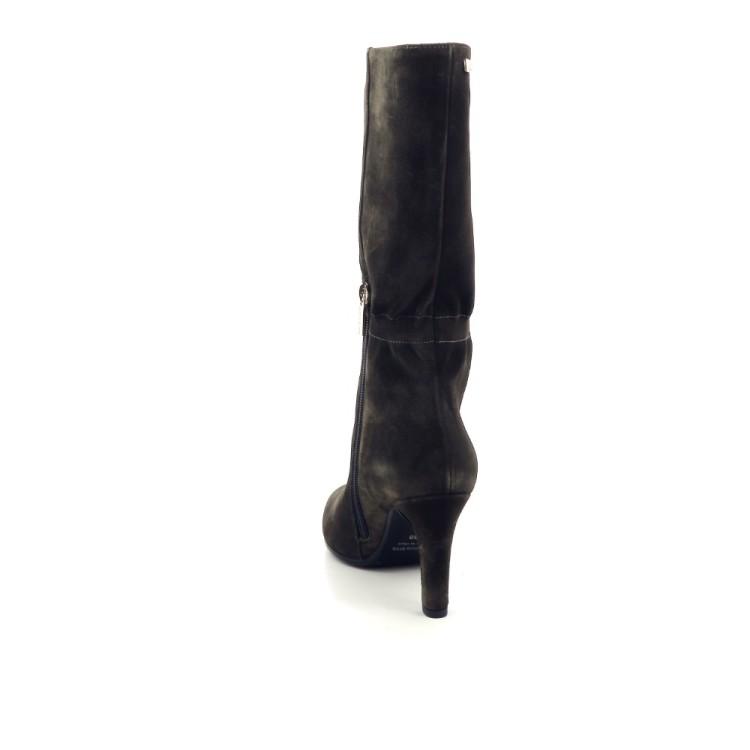 Caroline biss damesschoenen laars kaki 200396