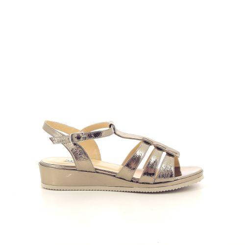 Cervone damesschoenen sandaal licht brons 193616
