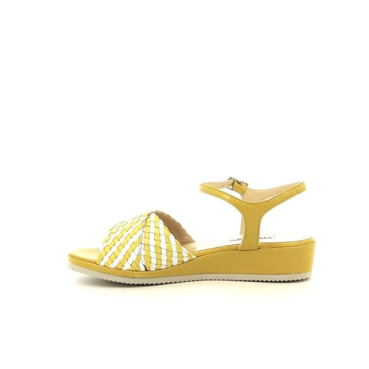 Cervone damesschoenen sandaal geel 193615