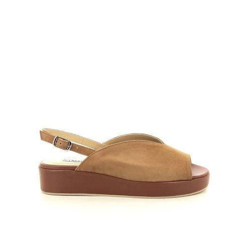 Cervone koppelverkoop sandaal naturel 193619