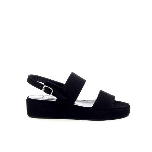 Cervone solden sandaal zwart 193620