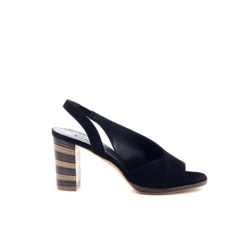Cervone  sandaal zwart 213303