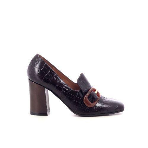 Chie mihara damesschoenen mocassin roodbruin 209768