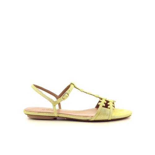 Chie  sandaal platino 195070