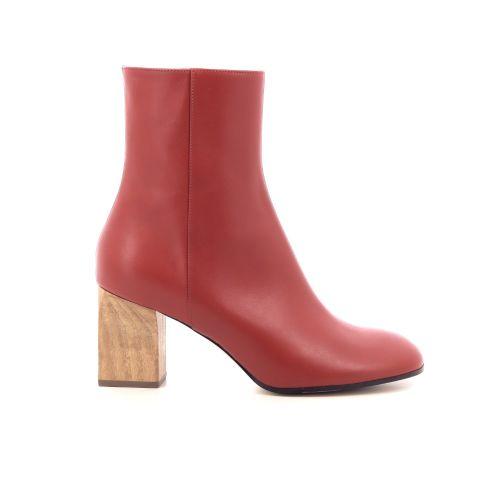 Christian wijnants damesschoenen boots steenrood 205372