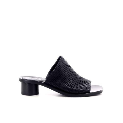 Christian wijnants damesschoenen sleffer zwart 205374