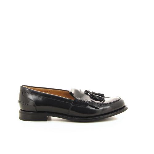 Church's damesschoenen mocassin zwart 18804