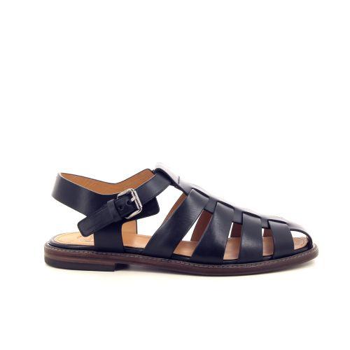 Church's solden sandaal zwart 191733