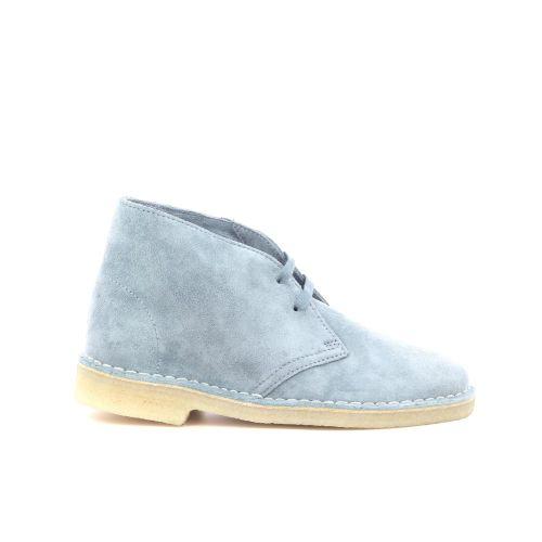 Clarks damesschoenen boots lichtblauw 216539