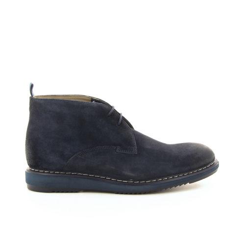 Clarks herenschoenen boots blauw 20015