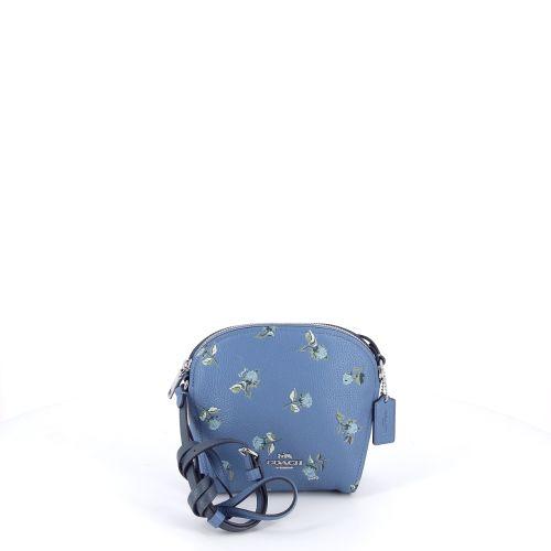 Coach solden handtas blauw 192922