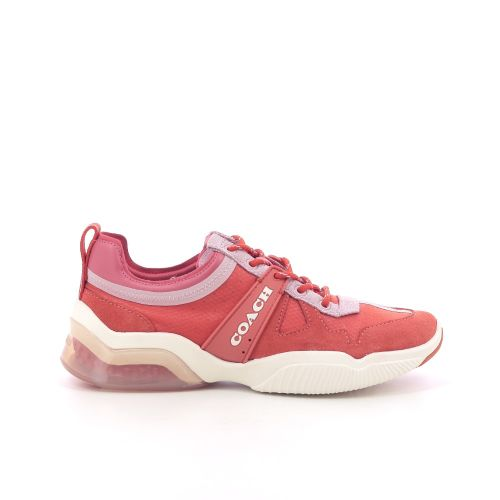 Coach solden sneaker poederrose 204038