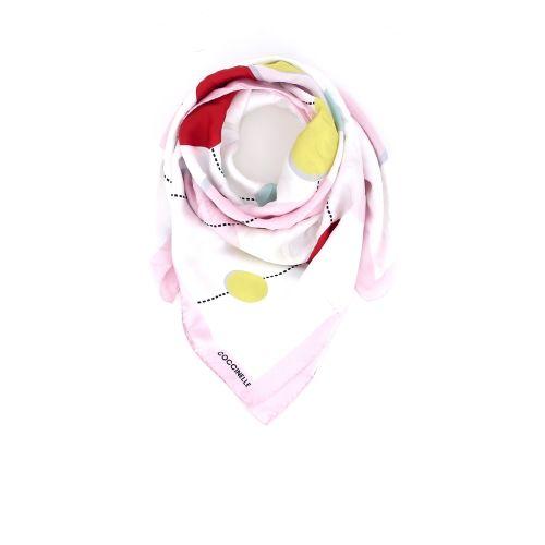 Coccinelle koppelverkoop sjaals wit 173985