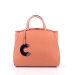 Coccinelle tassen handtas oranje 203146