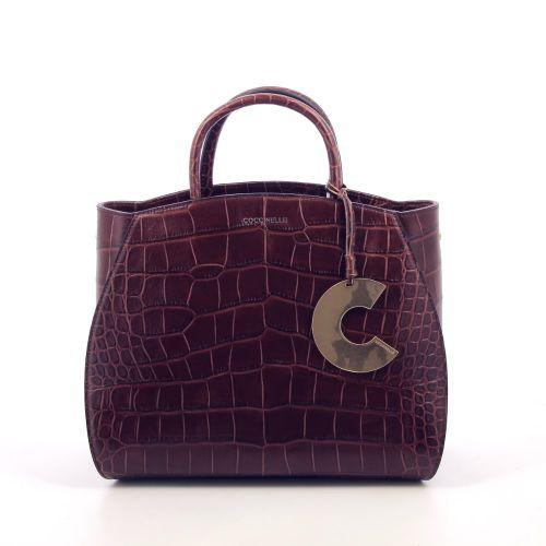 Coccinelle tassen handtas roodbruin 209602