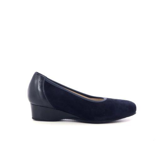 Comoda idea damesschoenen veterschoen donkerblauw 215777
