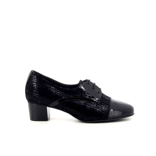 Comoda idea damesschoenen veterschoen zwart 190760