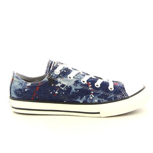 Converse solden sneaker jeansblauw 98449