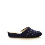 Crb damesschoenen pantoffel blauw 21588