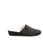 Crb damesschoenen pantoffel zwart 21586