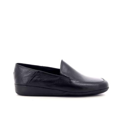 Crb herenschoenen pantoffel zwart 214528