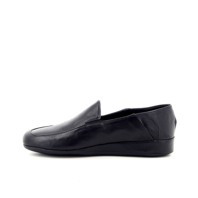 Crb herenschoenen pantoffel zwart 189888