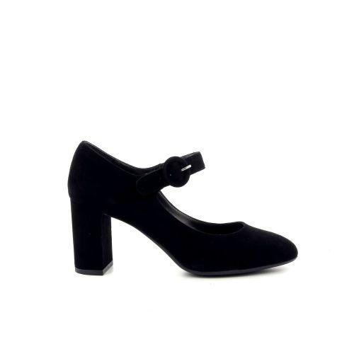 Cristian daniel damesschoenen mocassin zwart 190001