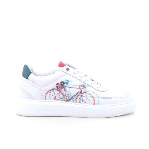 Cycleur de luxe herenschoenen sneaker wit 204655