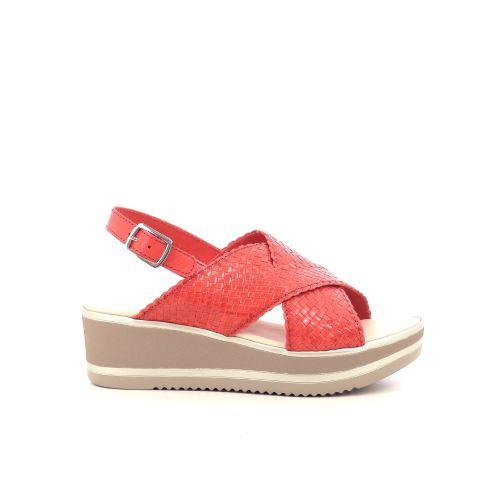 Daniele tucci damesschoenen sandaal koraalrood 214460