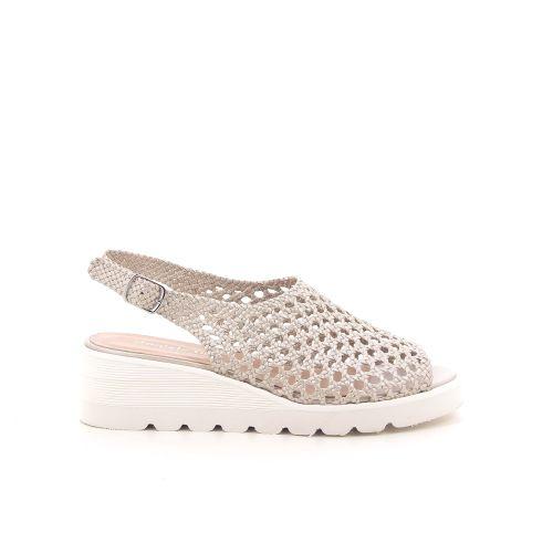 Daniele tucci damesschoenen sandaal lichtgrijs 195784