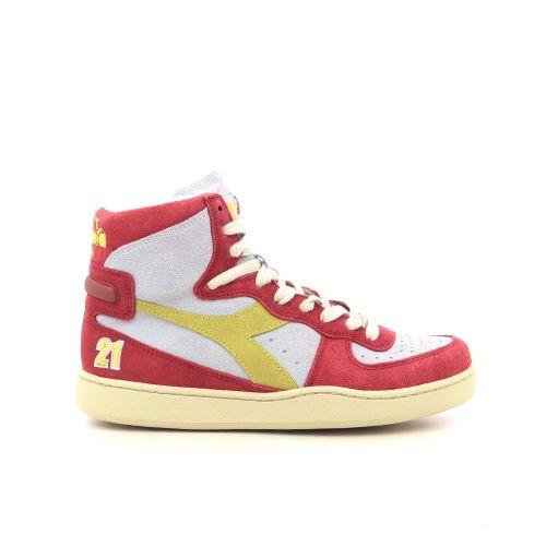 Diadora damesschoenen sneaker koraalrood 212407