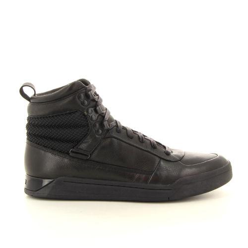 Diesel koppelverkoop sneaker zwart 12787