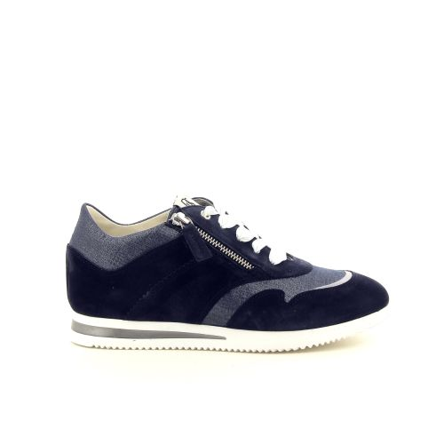 Dl sport  damesschoenen veterschoen donkerblauw 194570