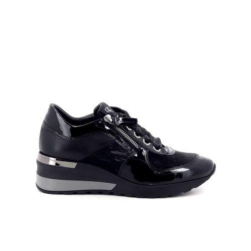 Dl sport  damesschoenen veterschoen zwart 199478