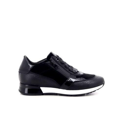 Dl sport  damesschoenen veterschoen zwart 211356