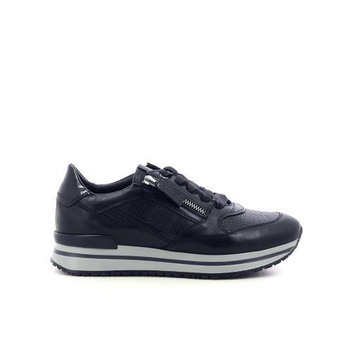 Dl sport  damesschoenen veterschoen zwart 211360
