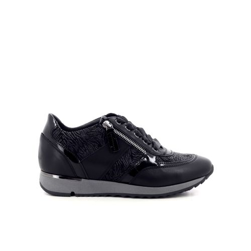 Dl sport  damesschoenen veterschoen zwart 211365