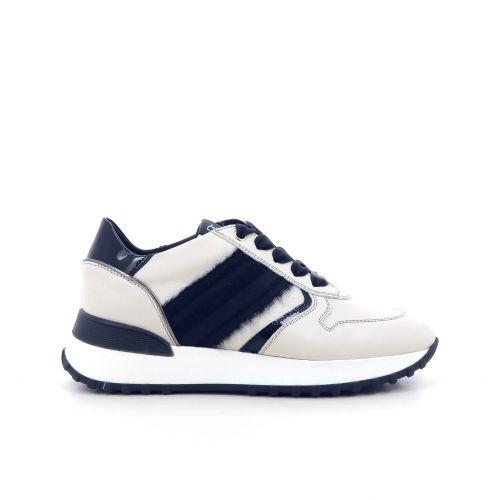 Dl sport  damesschoenen veterschoen zwart 211370