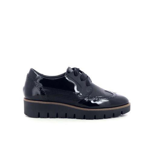 Dl sport  damesschoenen veterschoen zwart 211380
