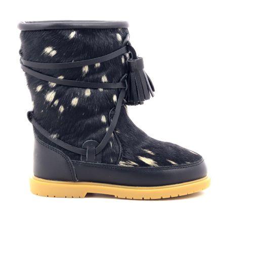 Donsje  boots zwart 199689