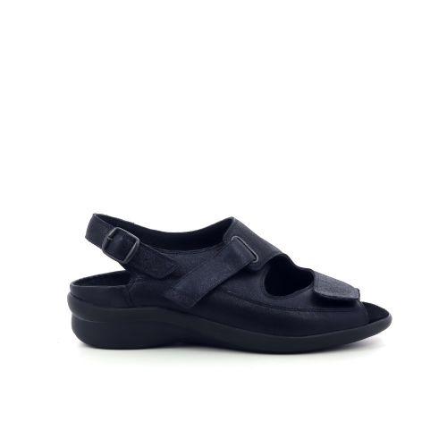 Durea damesschoenen sandaal donkerblauw 204389