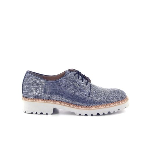 Durea damesschoenen veterschoen jeansblauw 169579