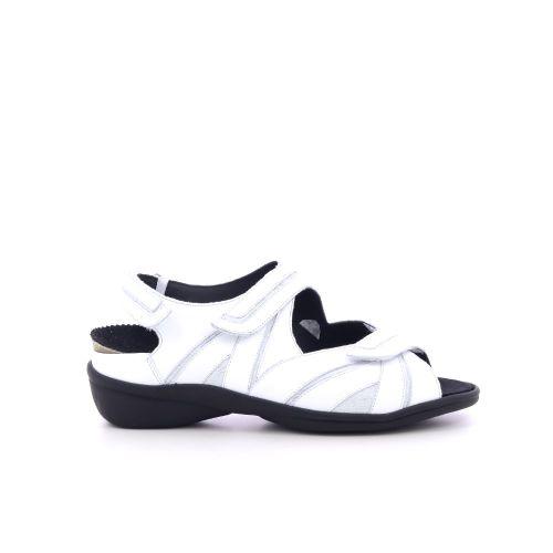 Durea damesschoenen sandaal wit 204382