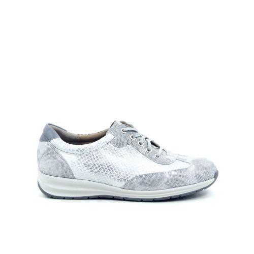 Durea damesschoenen sneaker zilver 169581