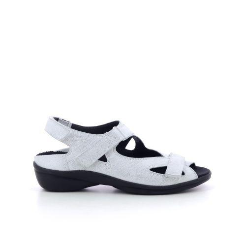 Durea damesschoenen sandaal zilver 193070