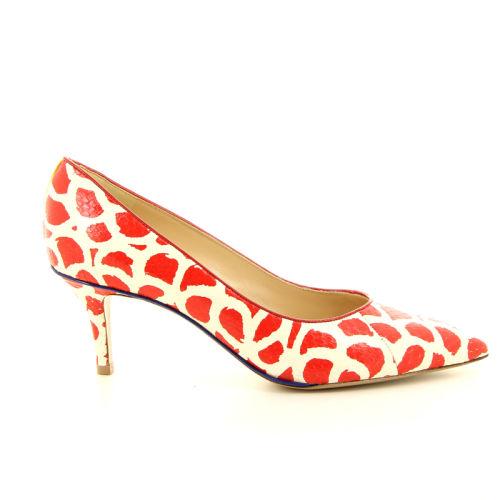 Dyva damesschoenen pump rood 13080