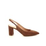 Dyva damesschoenen sandaal cognac 195580